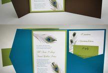 Peacock Themed Wedding / Themed weddings