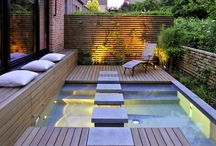 Spa / Mini hot tub/pool / by Jennifer Ibarra