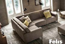 Il mondo FELIS / Divani, divani letto, letti rigorosamente Made in Italy