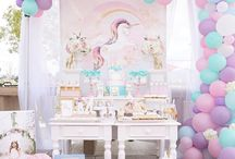 Unicorn birthday parties
