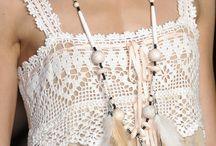 Canesú vestido / Crochet