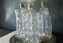 Object: Glassware – Vintage Decanters
