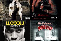 Rap and Hip Hop Spotify Playlist Board