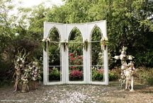 Aisles and Altars: Vintage: Doors, Mantles, and Windows / Vintage style wedding aisles and altars using doors, mantles, windows, and other architectual salvage. #wedding #vintagewedding #vintageweddingstyle #vintageweddingdecor #vintagethemedwedding #vintagedoorswedding #mantlewedding #windowswedding #architectualsalvage #architectualsalvagewedding
