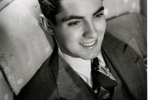45) The handsome actor Tyrone Power / Tyrone Edmund Power, Jr. (May 5, 1914 - November 15, 1958), was an American film and stage actor. He died of heart attack, 44 years old.