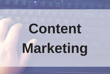 Content Marketing Tips / Learn how to use content marketing (webinars, blog posts, videos, et. al.) better for your small business with these tips.