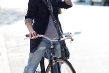 Cycle Chic / Pictures of Awesome Outfits and there's a bicycle involved.
