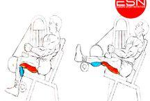 Ejercicios para levantar el glúteo (Bíceps Femoral) / Ejercicios para bíceps femoral que ayudan a aislar del glúteo, pero que son la clave fundamental para levantar los glúteos y dar forma y tamaño.