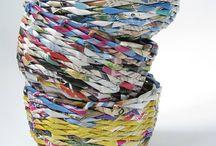 Papierowa wiklina / by Gabridou