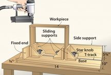 Trearbeid / Møbelsnekker, tredreierfaget, treskjærerfaget, bøkker, orgelbyggerfaget