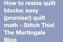 resize quilt blocks