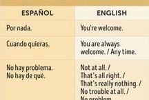 En inglés es...