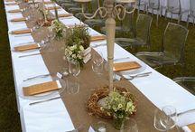 Decorazioni da tavola di nozze