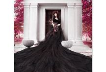Fantasy Dresses / Photography & Digital Art created with Parachute Dresses and more