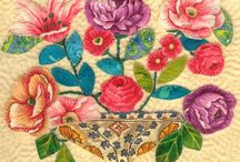Broiderie Perse and Applique