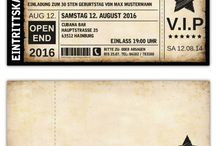 Einladungskarte Vip