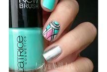 My nail art/nail polish / A retrouver sur http://aniyanailart.wordpress.com