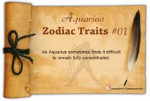 Aquarius Zodiac Traits / Find out about Aquarius characteristics and Aquarius personality traits.