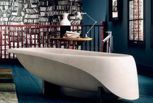 Concrete soft- GLASS / CONCRETE SOFT- freestanding bathtub, design by Gigi Rossi
