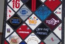 From Clothing to Quilt! / Quilts made from t-shirts and other clothing