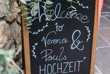 Hochzeit Pläne