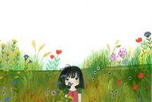 Parques y jardines / Ilustración vegetal