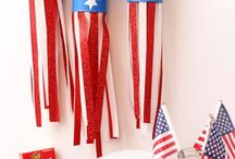 4th of July / A Board for celebrating the 4th of July! Crafts, Decor, Recipes