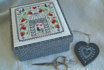 cross stitch finishing / by Elisabeth Doherty