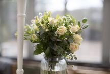 *Ivory Flowers-Summer* / Weddings in the summer designed and made by us.  To book a consultation please call the shop on 0117 9533892.