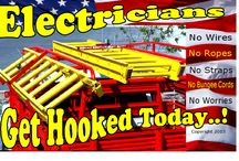 Hook-Um Dano Ladder Lock / No wires ,ropes, straps or bungee cords.