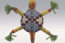 Beaded and Quilled Amulets / by Angela Teboe