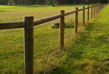 Pole fencing