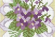 Cross stitch / by Trisha Vaz @ My Hobbie Lobbie