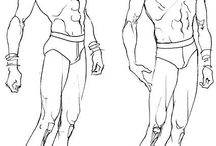 Sketch fashion body