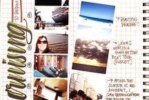 bullet journal/ art journaling/ scrapbook / bullet journal / art journaling / scrapbook