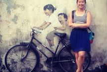 Street Art in Penang / All the street art I saw in Penang as of end Feb 2014
