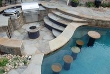 Beautiful swimming pools