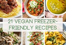 FOOD: Vegan / While I can't eat dairy or eggs, these are perfect recipes! / by Stephanie Pyne