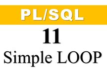 Iterative Statements/ Loops in Oracle PL/SQL Tutorial for beginners By Manish Sharma RebellionRider / this is a series of Oracle PL/SQL tutorial for beginners  Here are all the tutorial on Loops in Oracle PL/SQL with simple example Here you will learn 1 Introduction of Loops in Oracle PL/SQL   1.1: Simple Loop Explained with a simple example 2: While Loop In Pl/SQL with Example also covered How to handle Boolean expression as test condition in While loop 3: Numeric for loop in Oracle PL/SQL