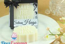 Idéias para Casamento / Lançamos em 2015 algumas idéias para casamento em sabonete artesanal, todos os itens foram criados e são produzidos por nós da DoceEspuma, se você gostou repine a vontade!