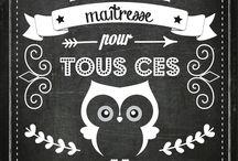 Cadeaux pour maitresses // Teacher Gifts / Teacher gifts / De jolies idées de cadeaux pour les maîtres et maîtresses.
