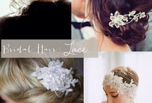 Lace Hair-Pieces / Bridal Style / Lace Hair-Pieces
