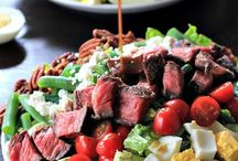 Salads with Beef