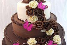 Torták , virág