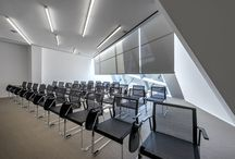 Auditorium / #architecture #interior #office #chair #people #design #modern #spaces #workplace #work #conference #clients #innovation