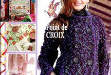magasines de tricot en Français , french knitting / tricot knitting