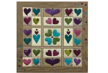 Hearts n' Dots / Hearts n' Dots Block of the Month blocks made by Karen and our customers
