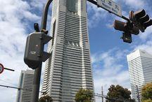 YOKOHAMA / みなとみらい21区、港の見える丘公園、中華街など。