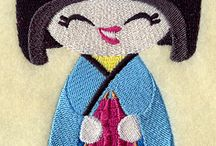 Doll Embroidery Designs