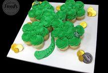 St. Patricks Day cakes